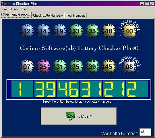 Lottery Checker Plus 2.1 full